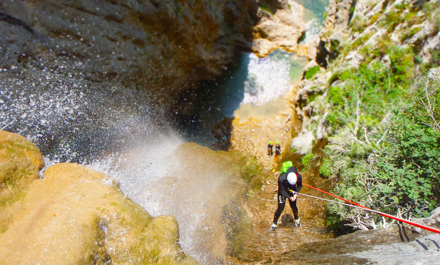 rappel canyon du verdon