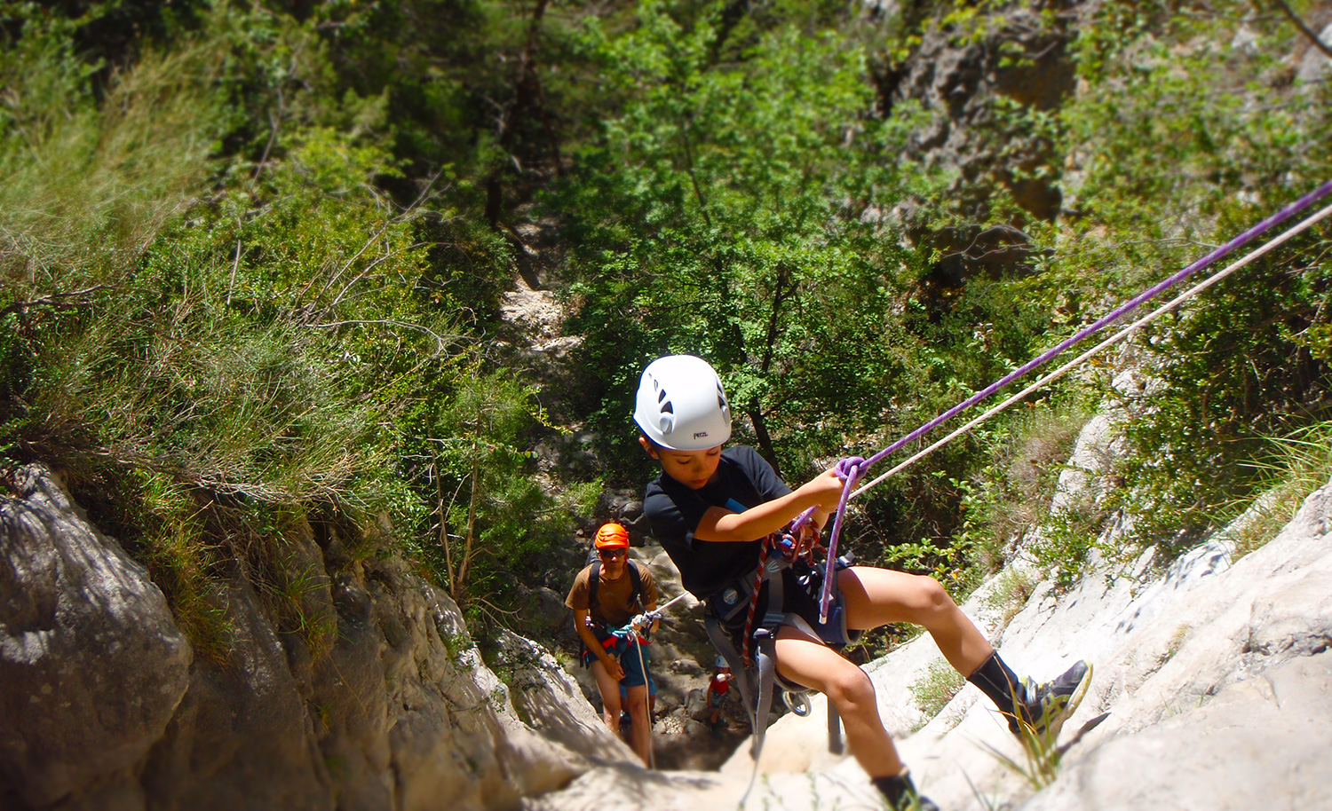 canyoning enfant verdon
